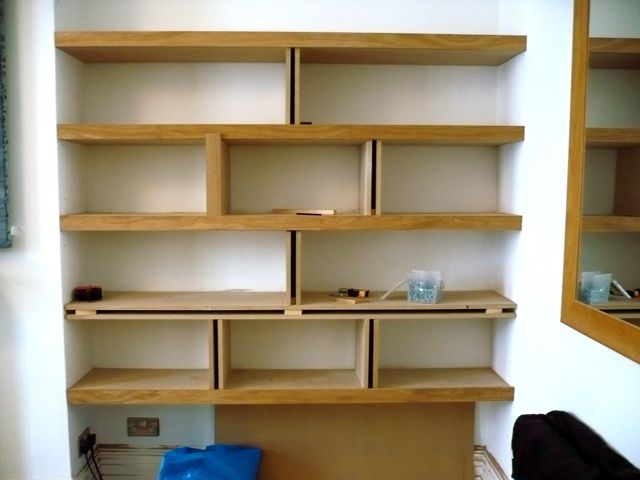This entry was posted in Shelving & Bookcases and tagged Shelves , oak ...