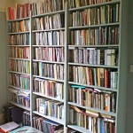 Large bookcase made to measure