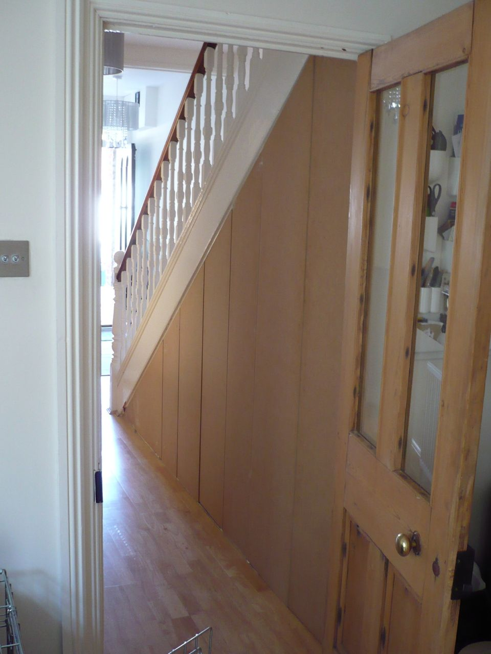 Stairs Cupboard Richard Sothcott Brighton Carpentry